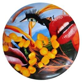 "Plate ""Lips"""