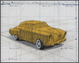 Wrapped Automobile (Project for 1950 Studebaker Champion, Series 9 G Coupe)