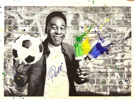 The King Pelé - Portrait