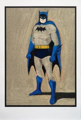 Batman Woodcut