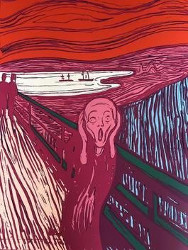 The Scream (Pink)