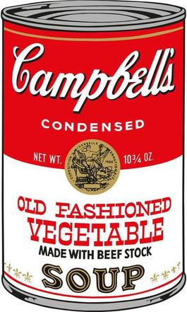 Soup Can (Old Fashioned Vegetable)