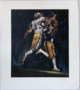 John Stallworth (NFL Superbowl XIV - Steelers vs. Rams)