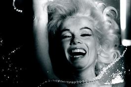 Marilyn Monroe, Hotel Bel-Air, Los Angeles, 1962 (Marilyn Laughing in Pearls)
