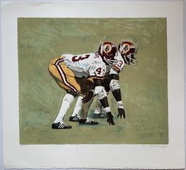 Washington Redskins Running Backs (Larry Brown and Charlie Harraway)