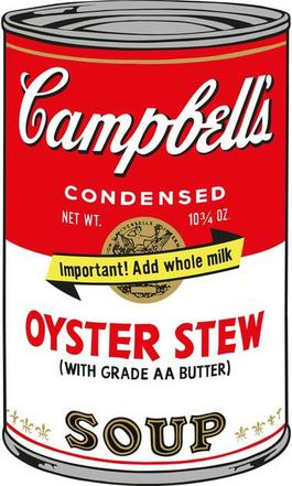Soup Can (Oyster Stew)