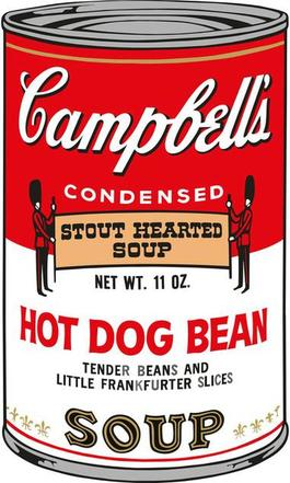 Soup Can (Hot Dog Bean)