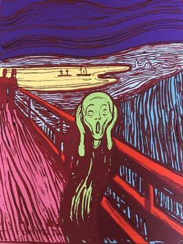 The Scream (Green)