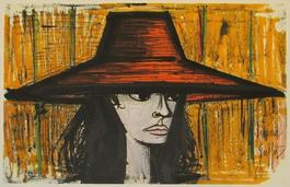 Femme au chapeau rouge (Woman with Red Hat)