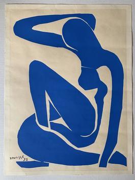 Nu Bleu I (Nude Blue)