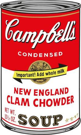 Soup Can (New England Clam Chowder)