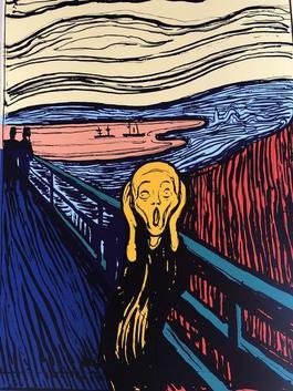 The Scream (Orange)