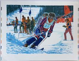1st US World Cup Skiing (Sun Valley, Idaho)