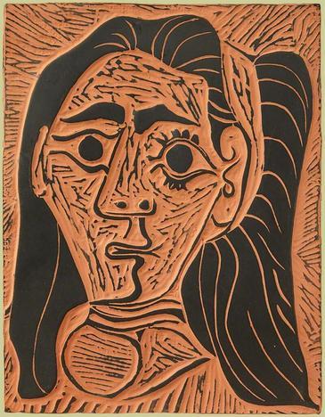 Femme au Cheveux Flous (Fluffy-haried Woman)