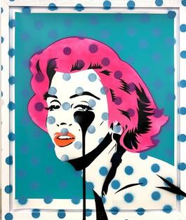 Dot Tone hand finished Marilyn Glam