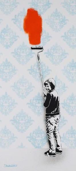 Otto - wallpaper bombing