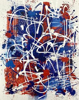 Bleu, egalite, rouge (Blue, equality, red)