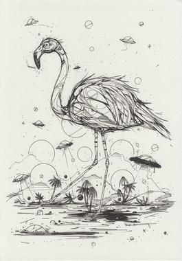 Flamingo dreams