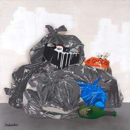 1m squared Trash - Paris