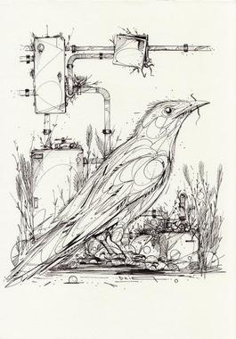 The handy bird