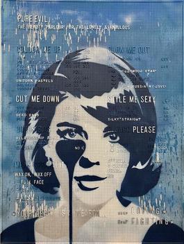 Blue Beauty Parlour - Natalie Wood
