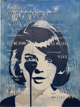 Blue Beauty Parlour - Nathalie Wood