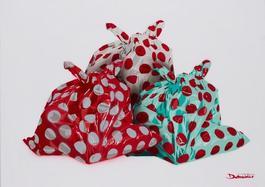 Three bags full of dots