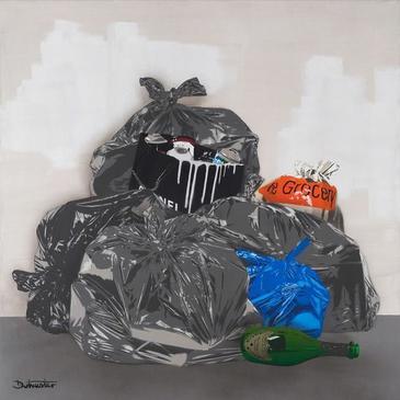 1m squared Trash - Paris