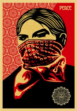 Zapatista Woman Large Format