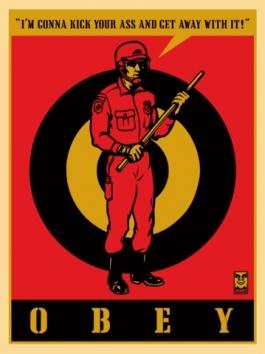 Riot Cop Large Format