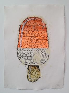 Ice Cream (orange white)