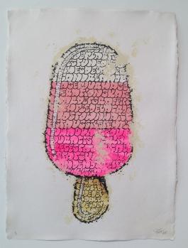 Ice Cream (white pink)