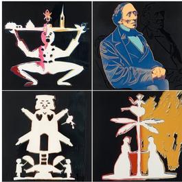 Hans Christian Andersen, set of 4, FS II.398-401