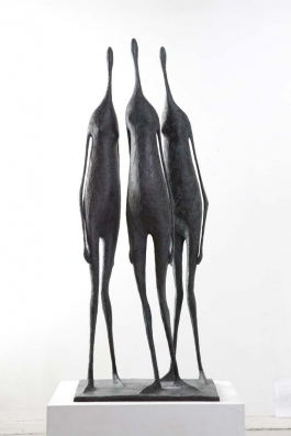 Three Large Standing Figures I (Trois Grandes Figures Debout I)