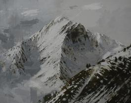 Large Benasque 2, Snow series