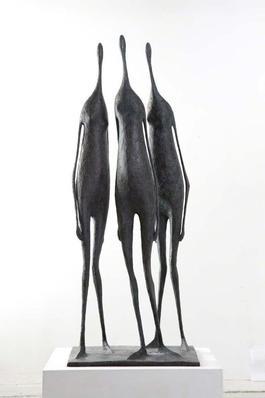 Three Large Standing Figures I