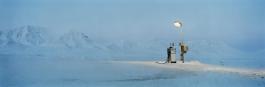 Gasoline Pump in Moonlight (Barentsburg series)