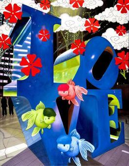 blu love & green