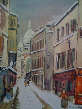 La Rue Saint Rustique