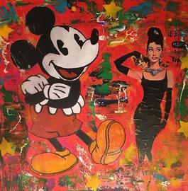 Mickey et Audrey