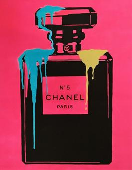 PINK NEON CHANEL NO.5