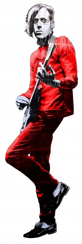 Big Guitar Hero rouge