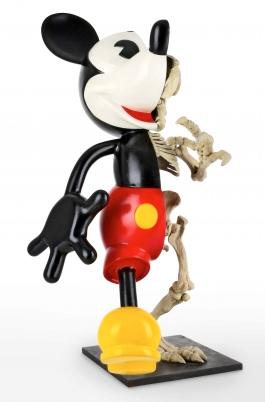 Mickey walking