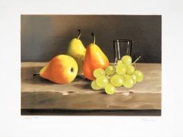 Poires et raisins