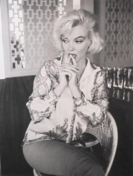 Marilyn Thinking