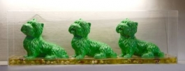 Cloned green dogs