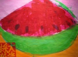 Watermelon and Grasshopper