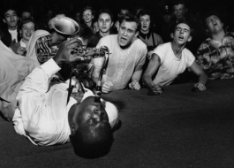 Big Jay McNeely on back