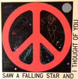 Saw a falling star