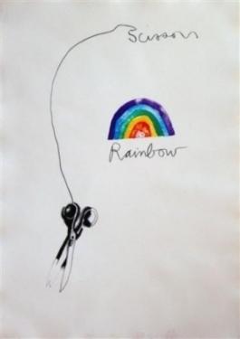 Scissors and Rainbow